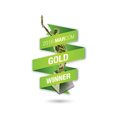 Award Logo Marcom Gold