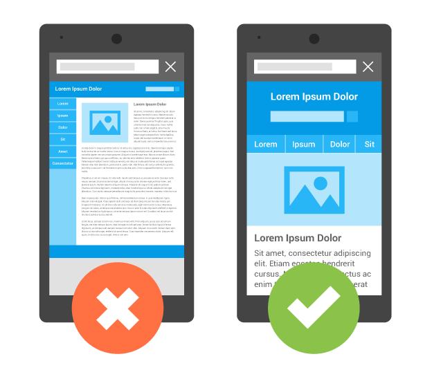desktop vs mobile web design