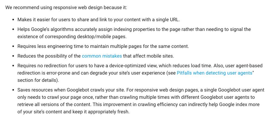 google-prefers-responsive-web-design