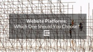 Website platforms which to choose